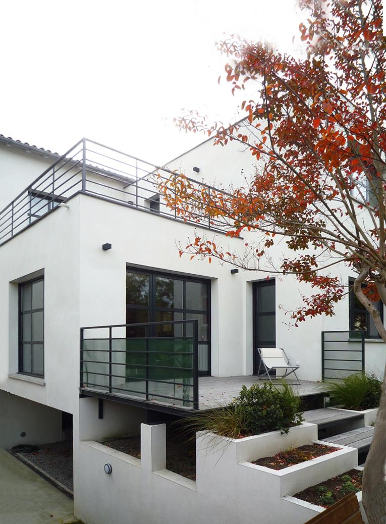 bureau d 39 architecture modeste maison p2 toulouse. Black Bedroom Furniture Sets. Home Design Ideas
